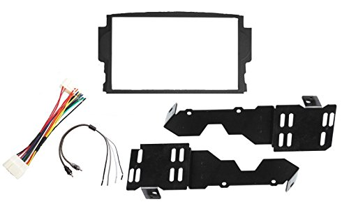 (New! Aftermarket Radio Installation Double Din Dash Kit Fits Acura TL 2004-2008 Includes Subwoofer Harness)