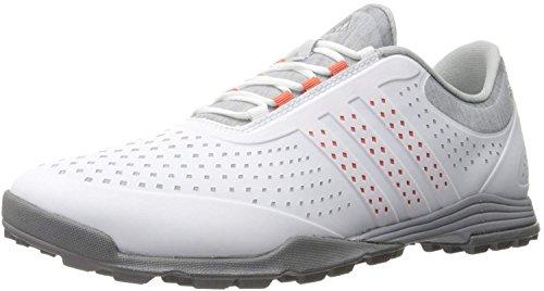 adidas Women's Adipure Sport Golf Shoe, Grey, 8 M US