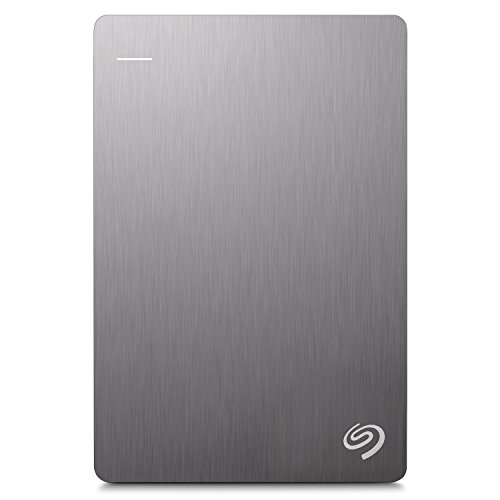 Seagate 2TB Backup Plus Slim (Silver) USB 3.0 External Hard Drive for PC/Mac with 2 Months Free Adobe Photography Plan