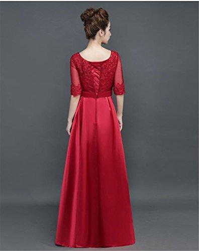 Kleid Drasawee Drasawee Rot Damen Empire Empire Kleid Rot Damen z0P5xCwq