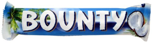 British Chocolates Bounty Milk Bar 2x28.5g 8 count Bounty Milk Chocolate Bar