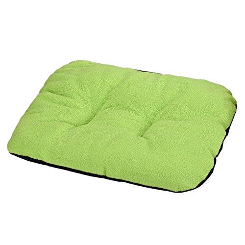 AutumnFall® Dog Blanket Pet Fleece Cushion Dog Cat Bed Soft Warm Sleep Mat (G) - Luxe Bolster