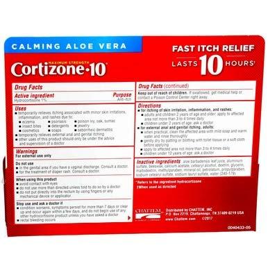 Cortizone 10 Maximum Strength Anti-Itch Creme , 1 Oz by Cortizone 10 (Image #3)