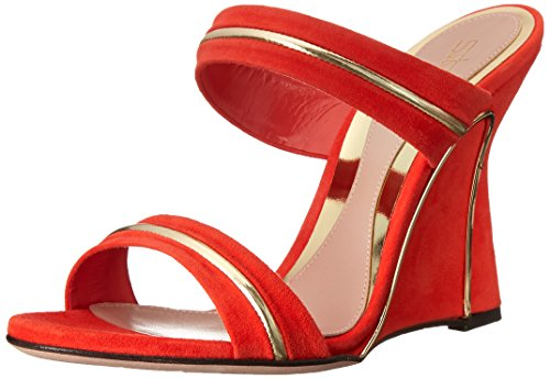 Coral Strap S6645 Women's Sebastian Suede Ankle Sandals Professional qHx4wxY