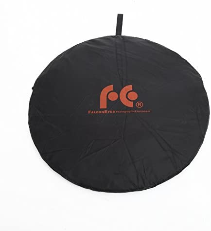 Falcon Eyes 22 56cm 5 in 1 Portable Collapsible Light Round Photography Reflector for Studio Multi Photo Disc CRK-22