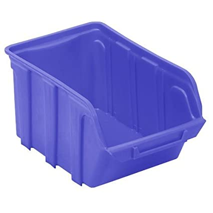 Viso TEKNI5B/4 Polypropylene Stackable Bin - Blue by Viso