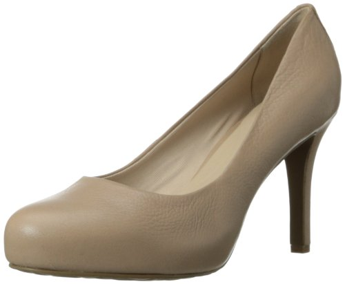 Rockport Women's Seven To 7 95mm Platform Pump,Warm Taupe,8 W (Plain Womens Pumps)