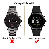 Suoman 3-Pack for Fossil Gen 5 Carlyle HR Screen