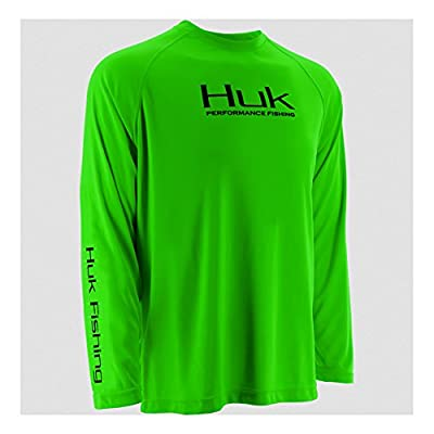 Huk Fishing Performance Raglan Long Sleeve