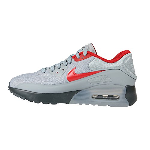 Pictures of Nike Air Max 90 Ultra SE (GS) Anthracite Wolf Grey Gym Red 005 3
