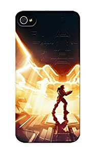 Case For Sam Sung Galaxy S4 Mini Cover Premium Protective Case With Look - Video Games Artwork Halo 4 Forerunner (gift For Christmas)