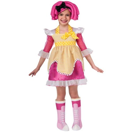 Crumb Sugar Cookie Costume (Lalaloopsy Deluxe Crumbs Sugar Cookie Costume - Small)