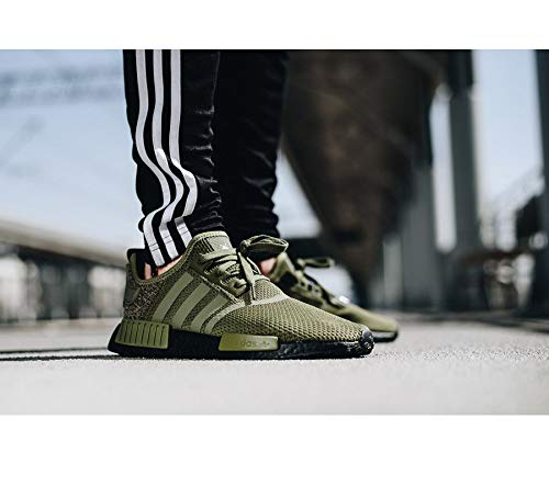 cb29cac75 adidas - NMD R1 - AQ1246 - Color  Green-Olive - Size  8.0  Amazon.co.uk   Shoes   Bags
