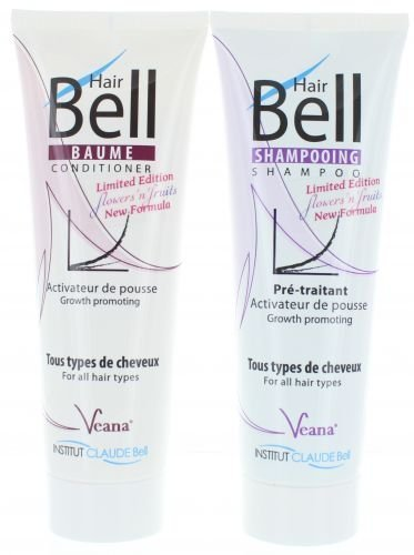 Hairbell Champú + Conditioner – Flowers n fruits (2 x 250 ml)