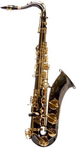Ravel RTS201BNP TS002BNP Black Nickel Student Tenor Saxophone with High F#