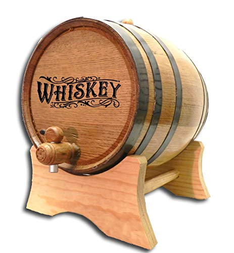 Engraved Whiskey Barrel (B511) (20 Liter) 5 Gallon Oak Barrels