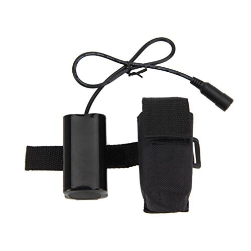 OVERMAL 8.4V USB Rechargeable 12000mAh 4X18650 Battery Pack For Bicycle light Bike Torch Bike Strong (12000 Mah Usb)
