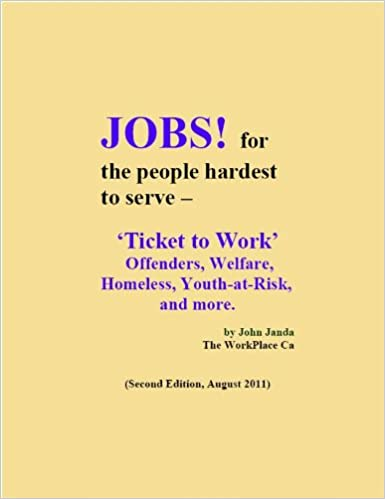 Jobs! -for the people hardest to serve... 2nd Edition