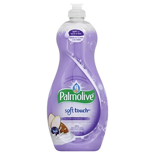 Palmolive Ultra Dish Liquid, Soft Touch Almond Milk and Blueberry, 25 Fl Oz