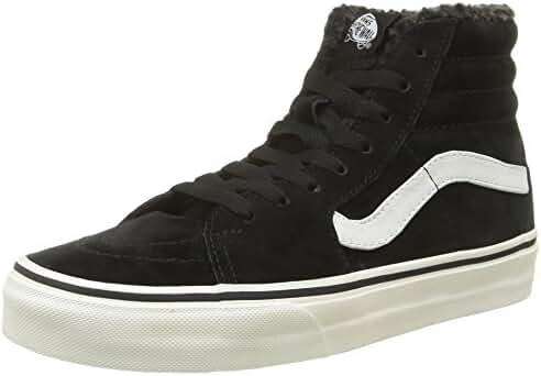Vans Unisex Sk8-Hi Black Sneaker - 12