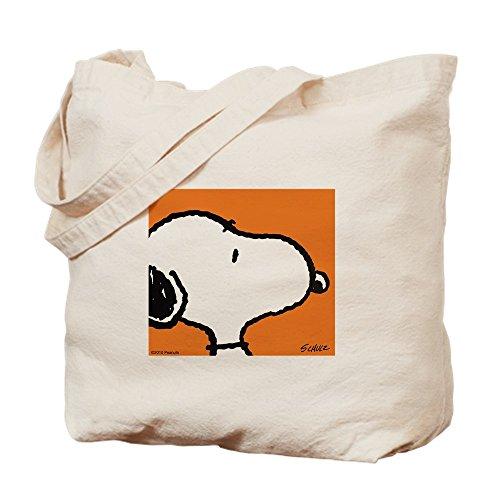 CafePress–Fresh naranja gamuza de Snoopy–lona bolso, bolsa de la compra
