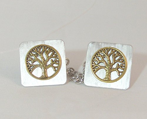 Encircled Gold Tree of Life Tallit (Tallis Clip)
