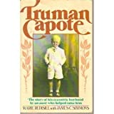 Front cover for the book Truman Capote: The Story of His Bizarre and Exotic Boyhood by an Aunt Who Helped Raise Him by Marie Rudisill