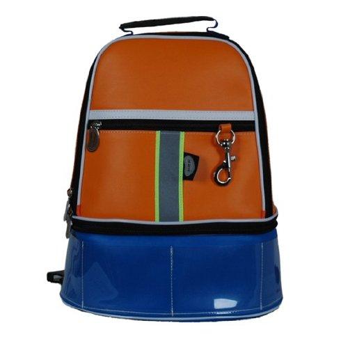 HI-DI-HI Sporttasche Gymmy orange-l.blue