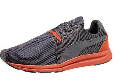 Puma Haast Lace Heren Grijs / Oranje Sneakers Grijs / Oranje