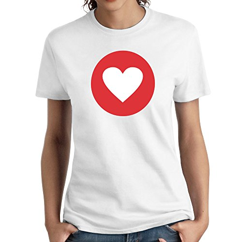 Women Love Symbol Emoji Fun Humor Tshirts Funny (Grill Cover Warriors)