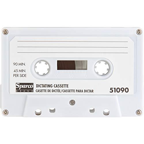 Sparco 51090 Dictation Cassette, Standard, 90 Minute