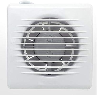 Ventilación Extractor Cuarto de baño Pequeño extractor Ventilador Partición Pared Ventana Ventilación Potente campana de aire silencioso 110 mm: Amazon.es: Hogar