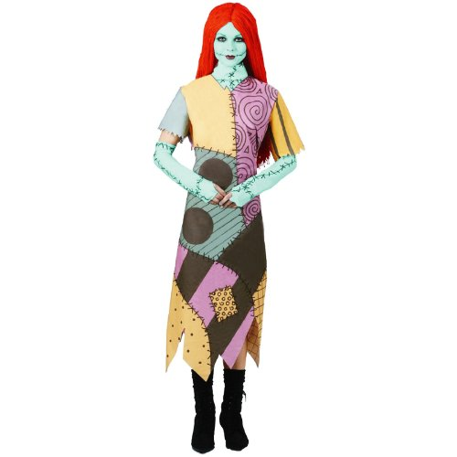 Disguise Women's Tim Burton's The Nightmare Before Christmas Sally Classic Costume, (Christmas Womens Costumes)