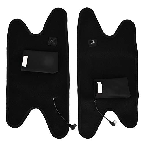 Cuque Knee Pads BSD1002 4Pcs Riding Elbow Pads Guard Protector and Knee Protectors Kit Universal Motorcycle Summer Men and Women Protection Equipment Classic Black