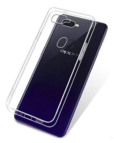 Oppo F9 / Oppo F9 Pro Transparent Back Cover  by OffersOnly