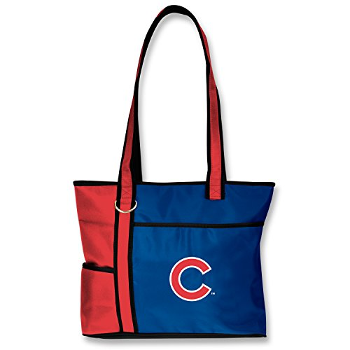 MLB Chicago Cubs Womens Tote Bag with Embroidered Logo ()