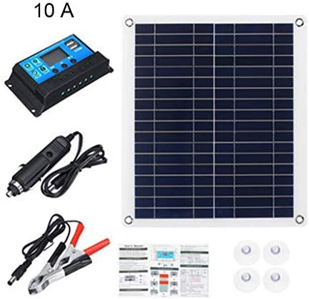 Werkzeuge, ultradünnes flexibles Solarpanel-Kit für den Außenbereich, Notfall, elektrisches polykristallines Board für Zuhause, Wohnwagen, Boot mit 10/20/30/50 A Controller
