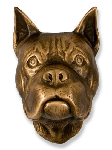 Dog Door Knocker (Boxer Dog Knocker - Bronze)