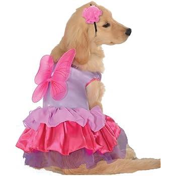 Rubieu0027s Pink and Purple Fairy Pet Costume Medium  sc 1 st  Amazon.com & Amazon.com: Sugar Plum Fairy Dog Costume Size: X-Small (10