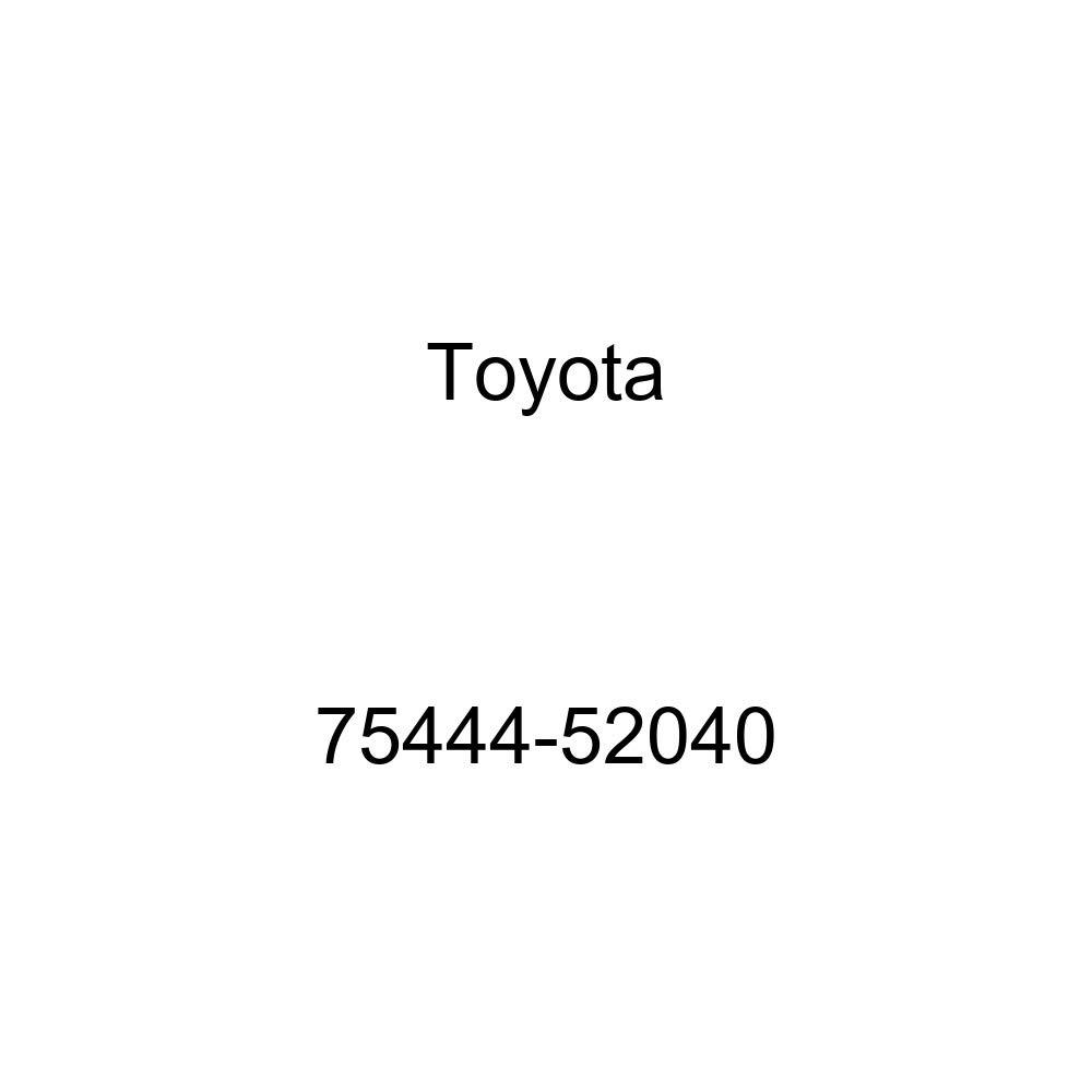 TOYOTA 75444-52040 Nameplate