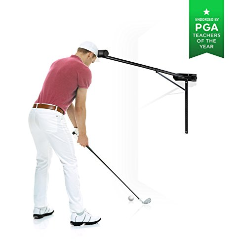 Golf Swing Trainer PRO-HEAD - Wall or Tree Golf Training Aid Equipment for All Golfers - Posture Correcting Tool - Fix and Keep a Steady Head, Maintain Spine Angle - Practice Indoor & Outdoor by PRO-HEAD