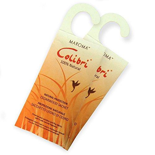 Natural Repellent Hanging Sachets Cedar