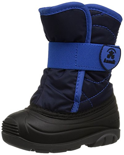 Kamik Unisex Baby SNOWBUG3 Snow Boot, Navy, 8 Medium US Toddler