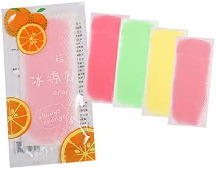 Artibetter 20Pcs Cooling Patch Summer Cooling Refreshing Stickers for Children Adult