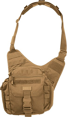 - 5.11 Tactical Push Pack, Utility Sling Bag for Responders, Style 56037, Flat Dark Earth