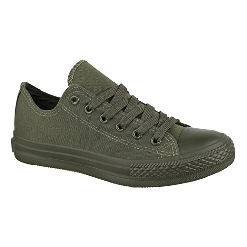 All Low Baskets New Lacets Basic Chaussures Femmes Elara Green Loisirs Sport De wgxBpqz4q