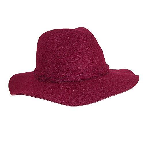 adora-womens-braided-band-safari-hat-with-self-trim-burgundy