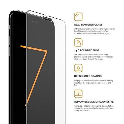 iPhone X / 8 + / 8/7 + / 7 / 6s + / 6s / 6 + / 6用強化ガラススクリーンプロテクター9H硬度(iPhone X)   B07CVMMVK6
