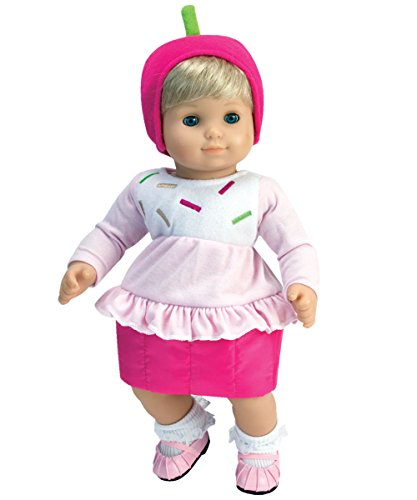 Sophia's Baby Doll Costume, Pink Sprinkled Cupcake Costume with Hat]()