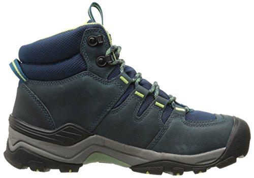 Keen Damen Gypsum II Mid WP Trekking-& Wanderstiefel Blue